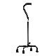 Nova Bariatric Quad Cane with Large Base