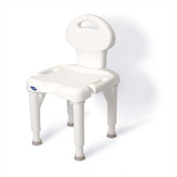 I-Fit Molded Shower Chair - With Back