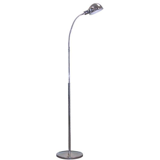 Chrome Gooseneck Floor Lamp