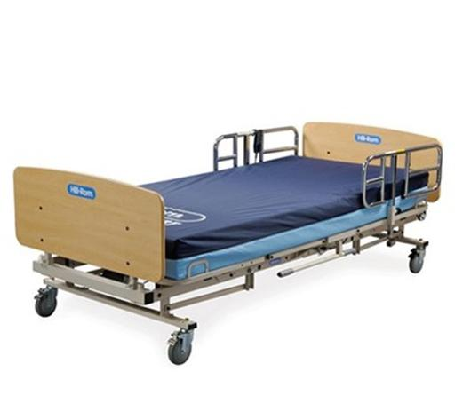 hospital bed wheels deluxe extended use homecare beds joerns beds spinlife