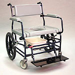 Activeaid Bariatric Rehab Shower Commode Chair
