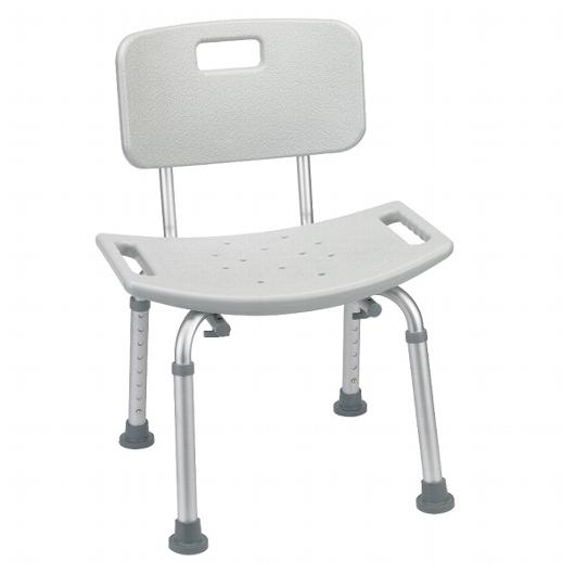 Deluxe Aluminum Bath & Shower Chair