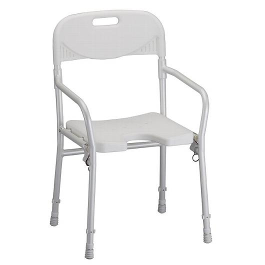 Foldable Shower Chair W/Back