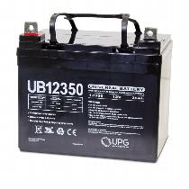 UPG 12V 35AH Sealed Lead Acid Batteries (Pair) Battery