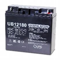 UPG 12V 18AH Sealed Lead Acid Batteries (Pair) Battery
