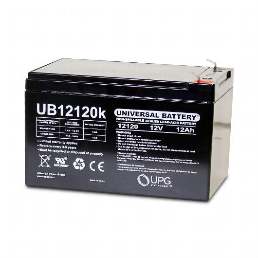 upg 12v 12ah sealed lead acid batteries pair batteries. Black Bedroom Furniture Sets. Home Design Ideas