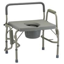 Nova Heavy Duty Drop-Arm Commode Commode
