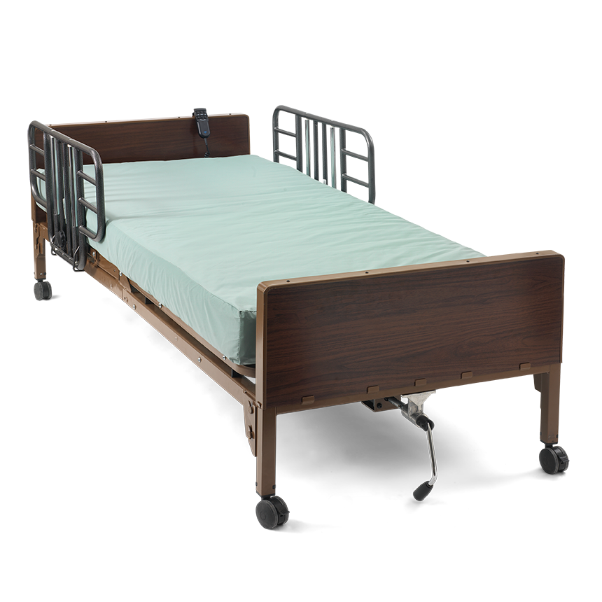 Adjustable Beds Reviews >> Medline Basic Semi-Electric Bed - Medline Semi-Electric Frames
