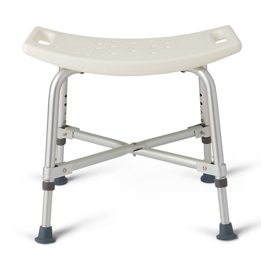 Medline Bariatric Bath Bench Without Back - Medline Stools & Seats
