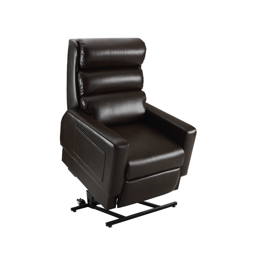 cozzia features relaxing air massage and heat therapy with power adjusting armrests