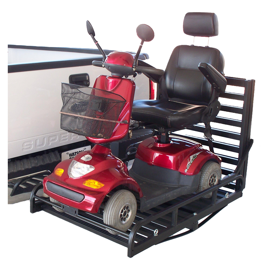 great day mighty lite scooter carrier great day outside manual rh spinlife com Manual Wheelchair Lifts for Cars Motor Scooter Lifts