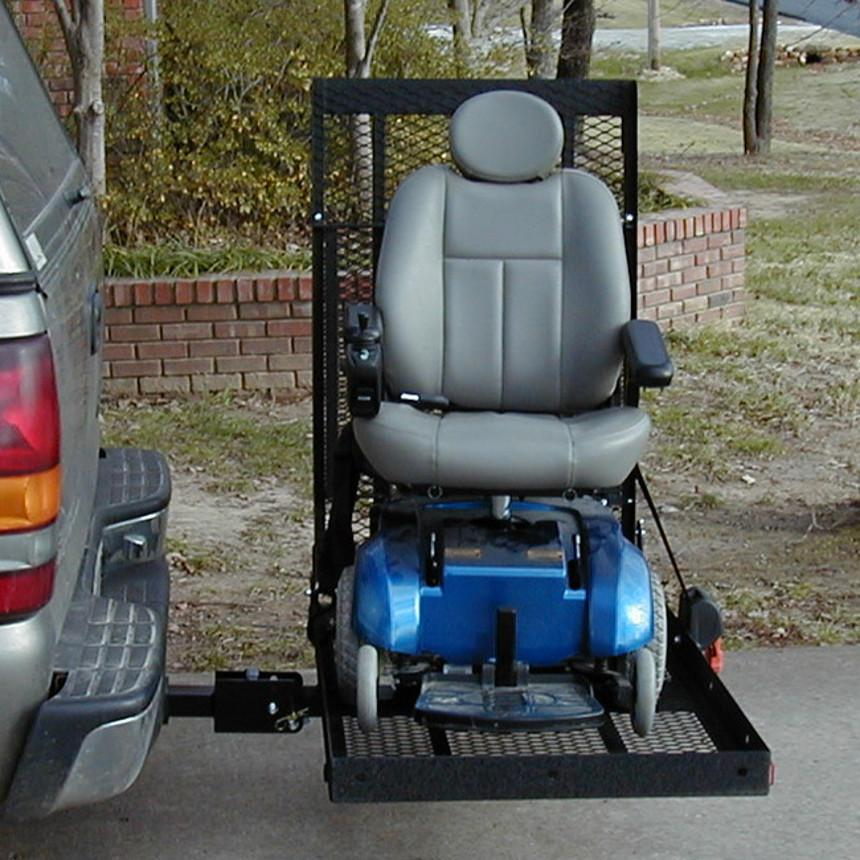Wheelchair Lift For Car >> E Z Carrier E Z Carrier 2 Fold Up Scooter Power Wheelchair Lift