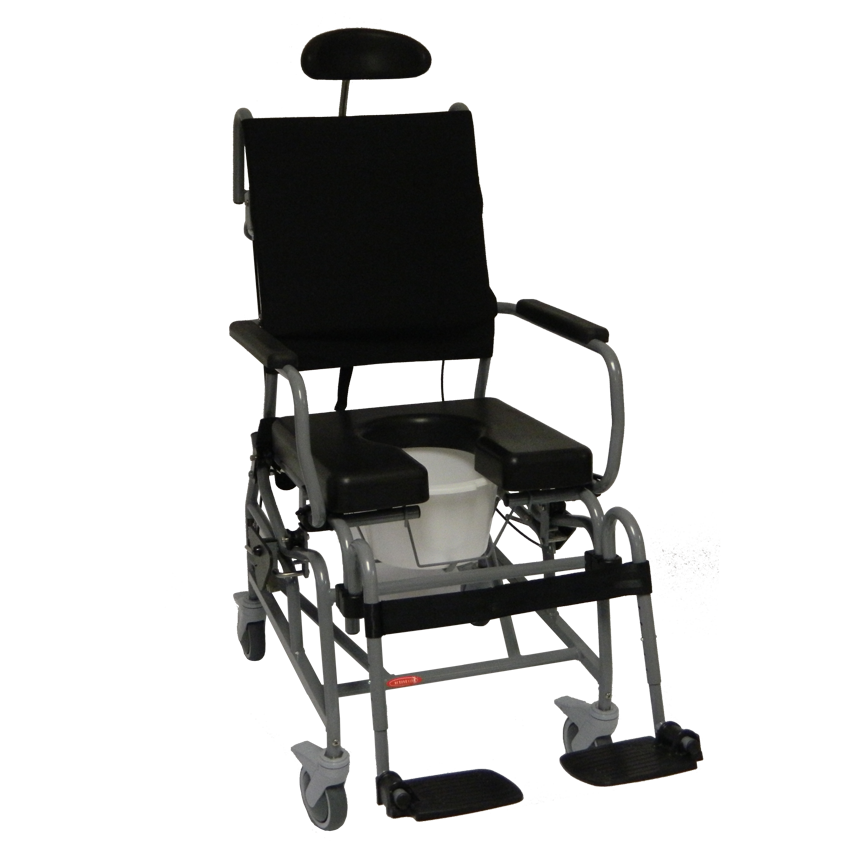 Activeaid Tilt-in-Space Shower Commode Chair - Activeaid Rehab ...