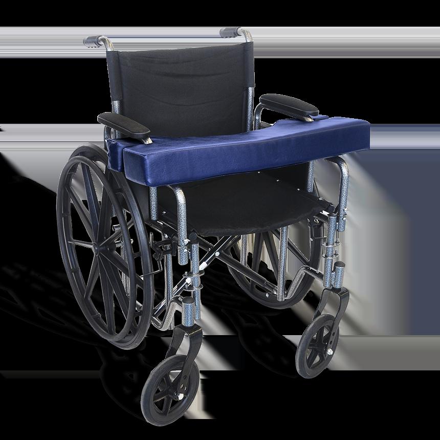 Wheelchair Lap Cushion Desk Arm