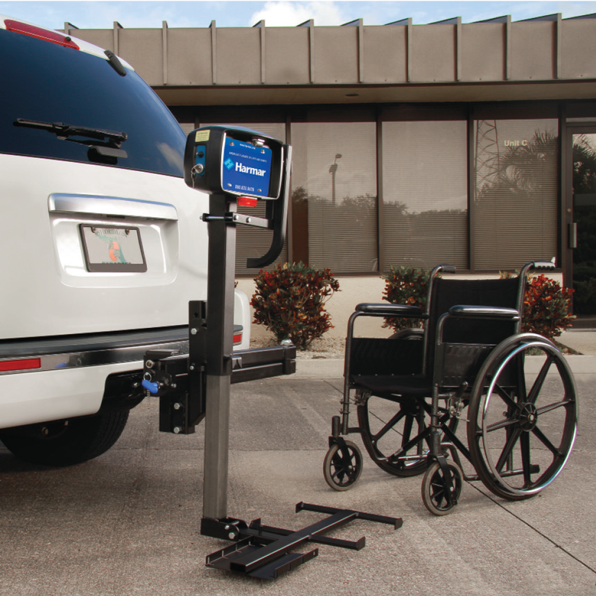 Fully powered for easy one-switch operation and transportation of your  manual wheelchair. 67960b595