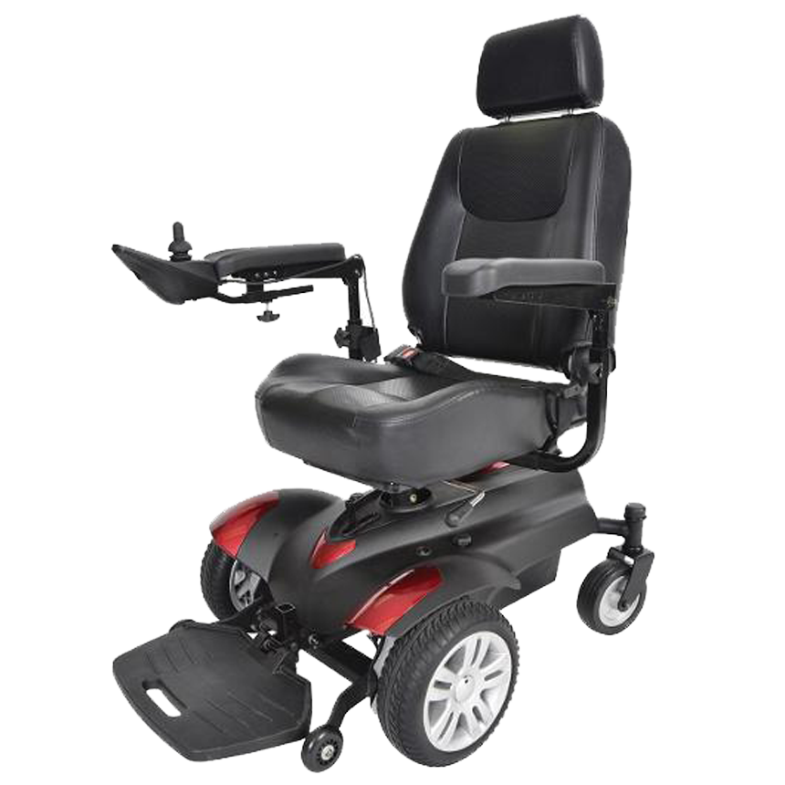 an Power Wheelchair on