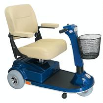 PaceSaver Espree Atlas 3-Wheel Heavy Duty/High Weight Capacity Scooter