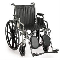 Sunrise / Quickie Breezy EC 2000 HD450 Heavy Duty/High Weight Capacity Wheelchair