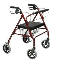 Drive Medical Go-Lite Heavy Duty Heavy Duty/High Weight Capacity Rolling Walker