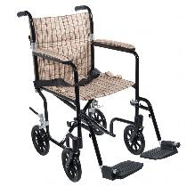 Drive Medical Deluxe Lightweight Transport Wheelchair Lightweight Transport Wheelchair
