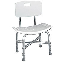 Drive Medical Deluxe Heavy Duty Bath Bench with Back Stools & Seats