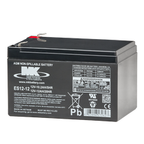 MK Battery 12V 12 AH Sealed Lead Acid (Pair) Battery