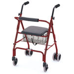 Rolling Walkers W/Weight-Activated Brakes