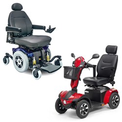 Heavy Duty Power Wheelchairs & Scooters