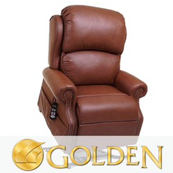 Golden Infinite-Position Lift Chairs