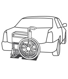 Transporting Manual Wheelchairs